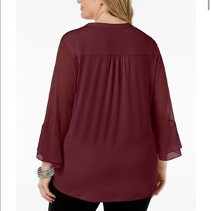 Charter Club Tops - New without tags burgundy blouse. Charter Club